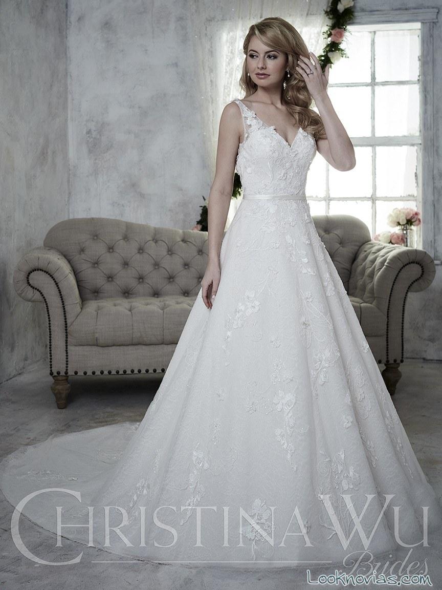 vestido blanco tirantes christina wu