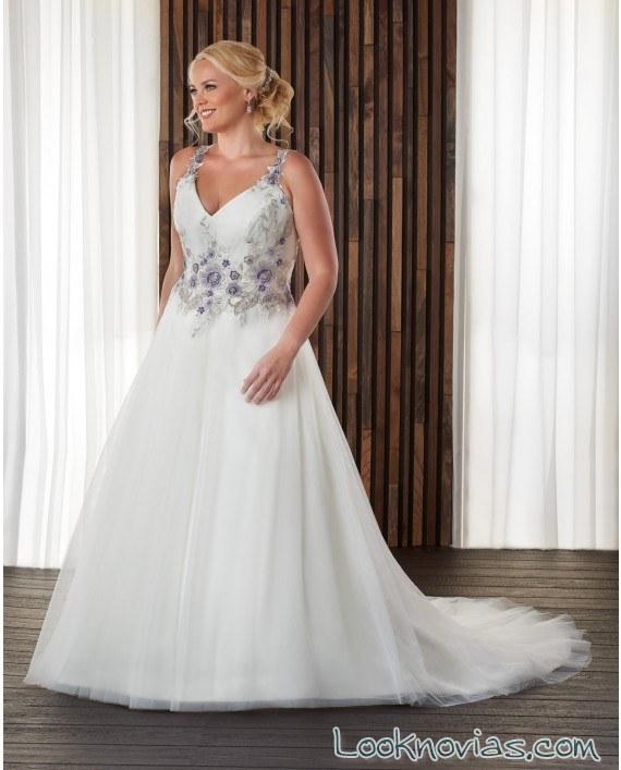 vestido bonny bridal novias en blanco
