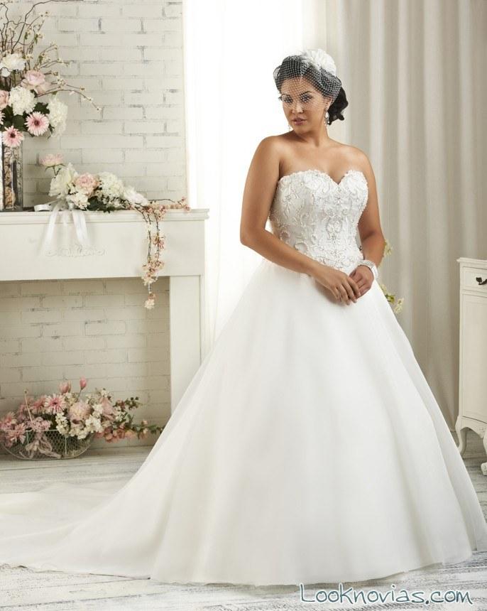 vestido bonny bridal plus size