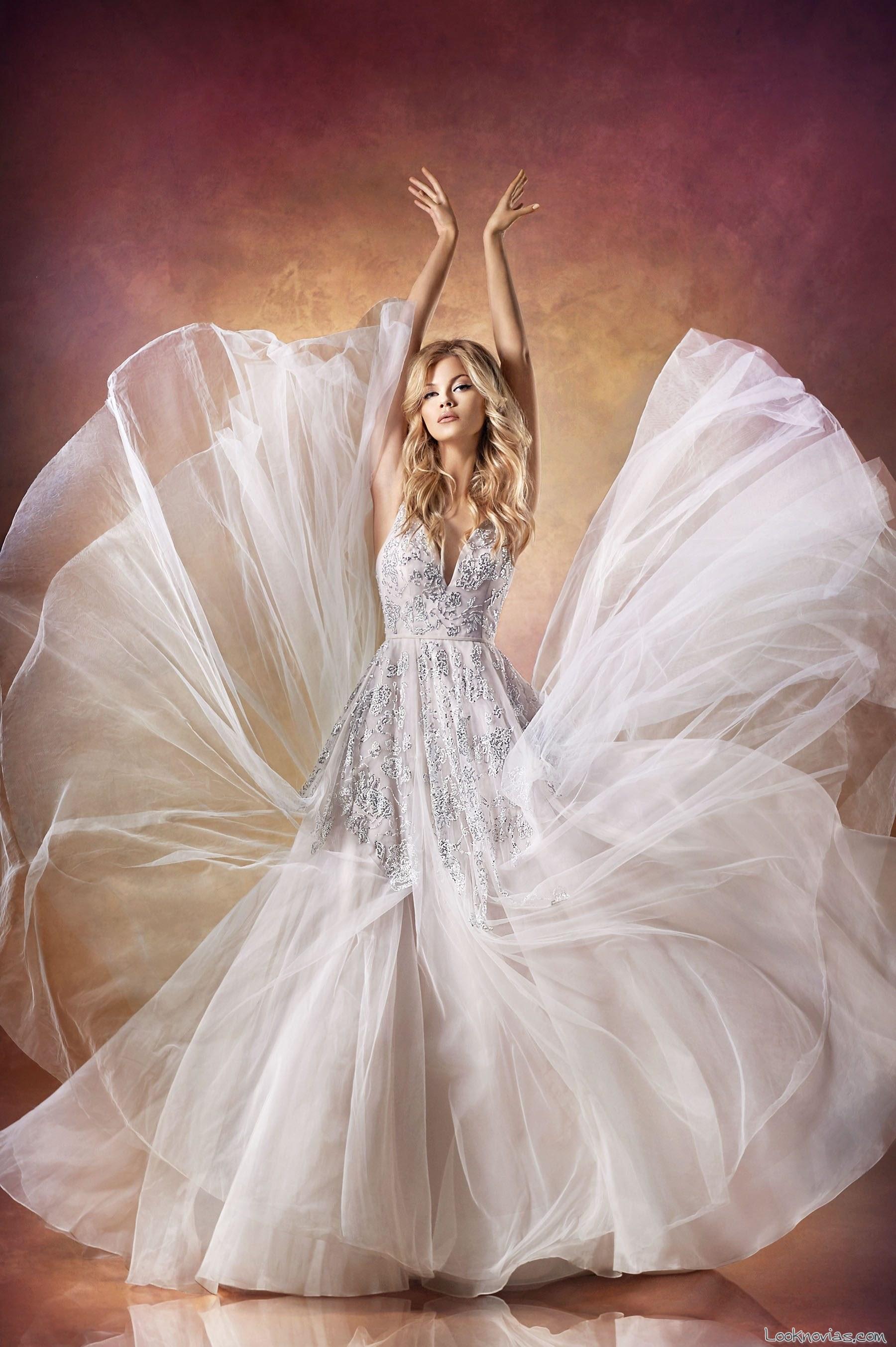 vestido bordados para novias 2016 hayley paige