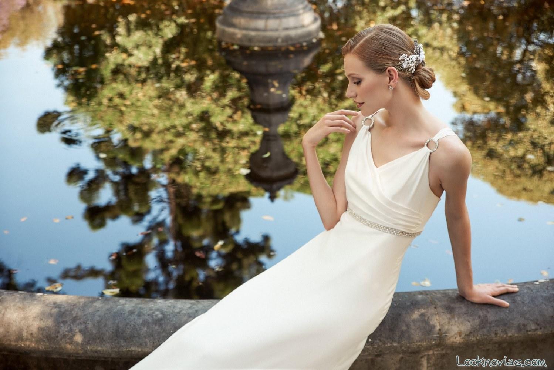 vestido clásico 2017 de marylise
