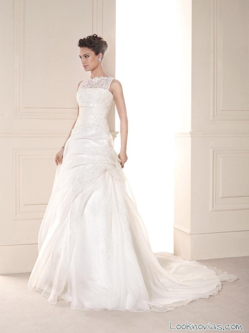 vestido colección fara sposa 2015