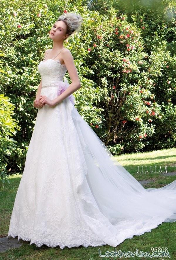 vestido colección jillian en color blanco