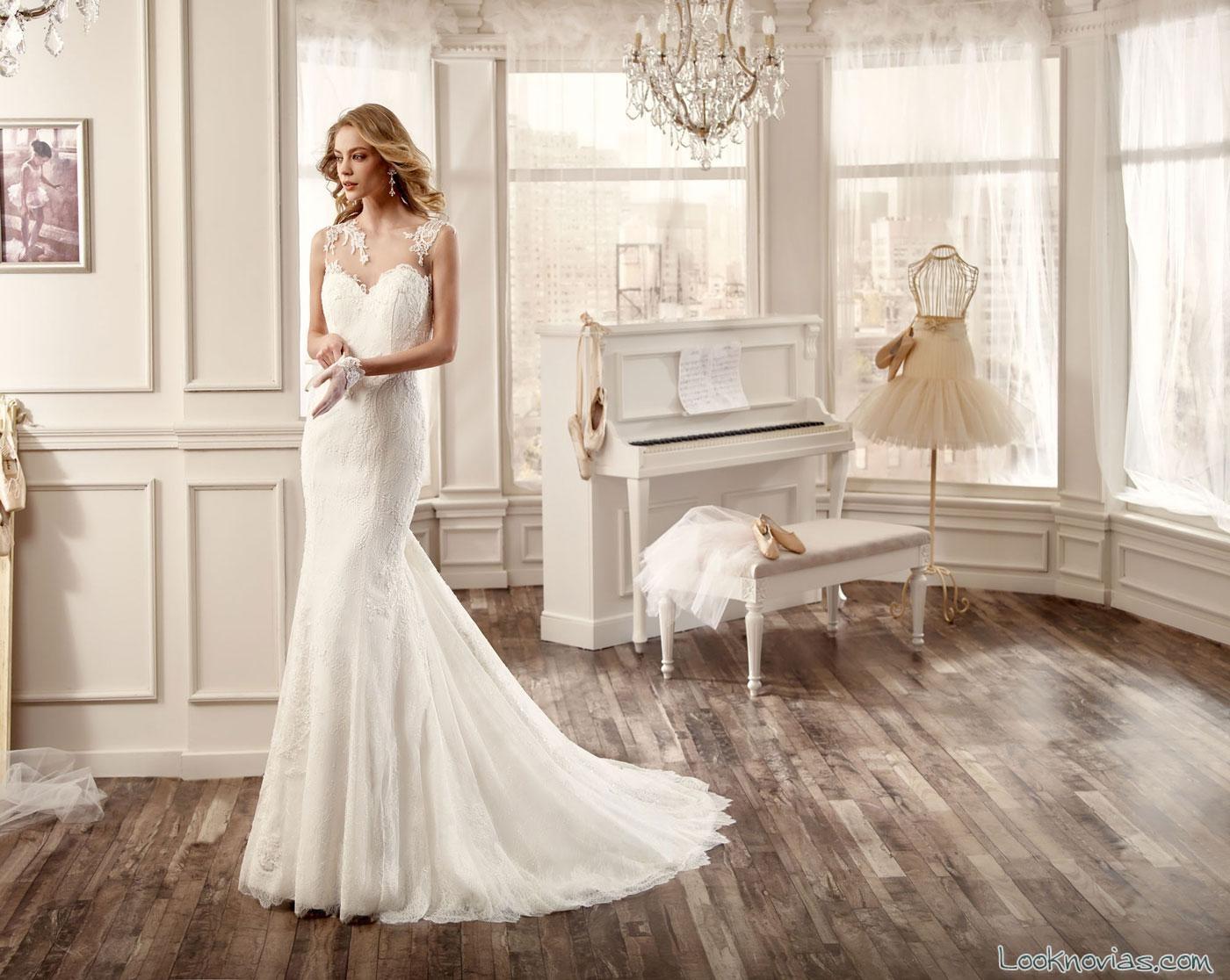vestido colección nicole 2016