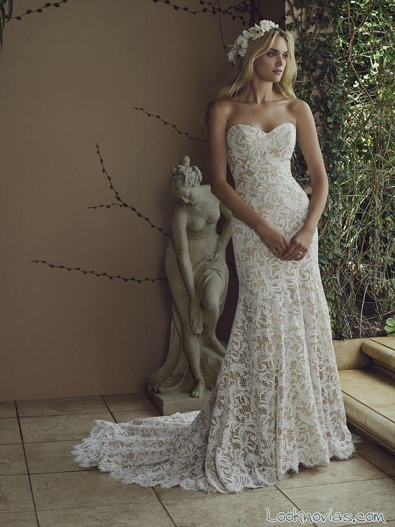 vestido colección primavera casablanca bridal