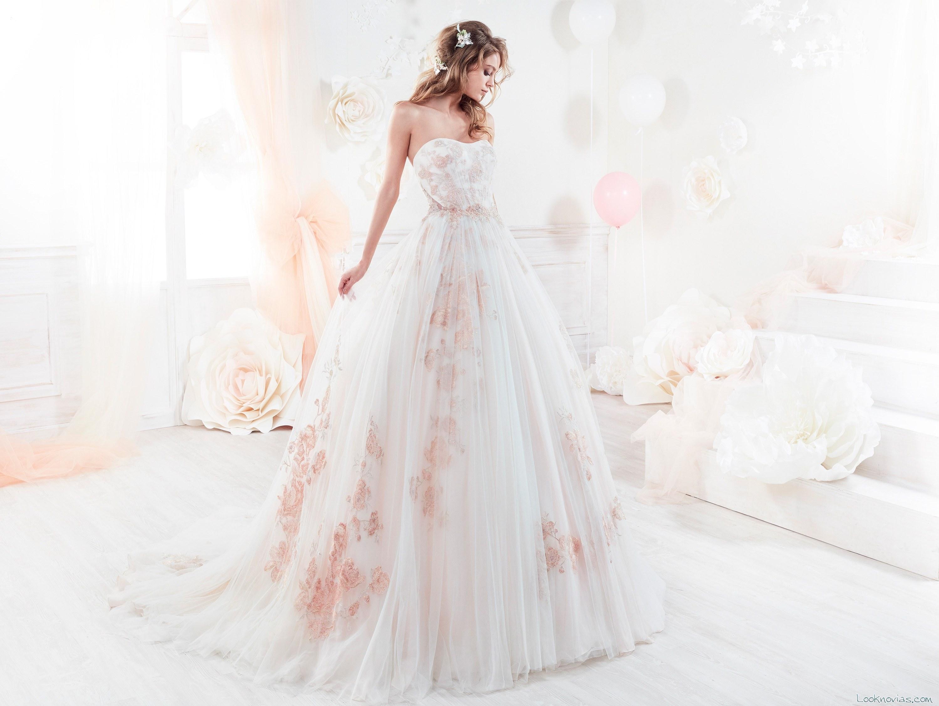 vestido colet 2018 en color