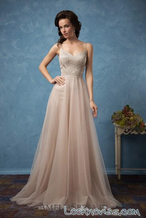 vestido color amelia sposa 2017