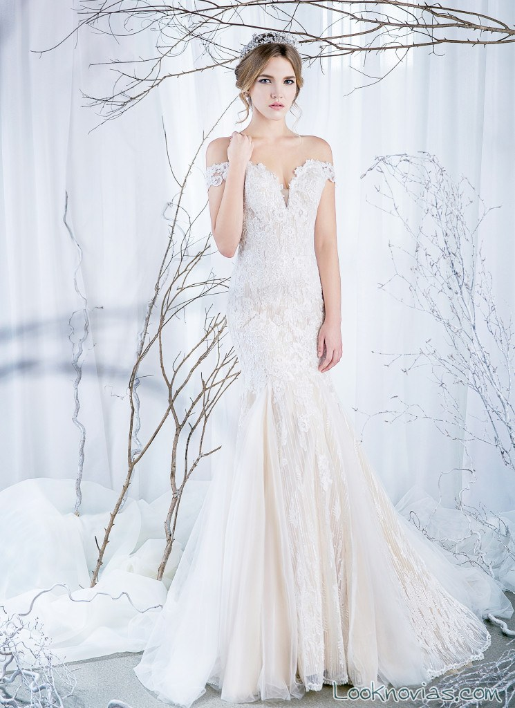 vestido combinado novias rico a mona