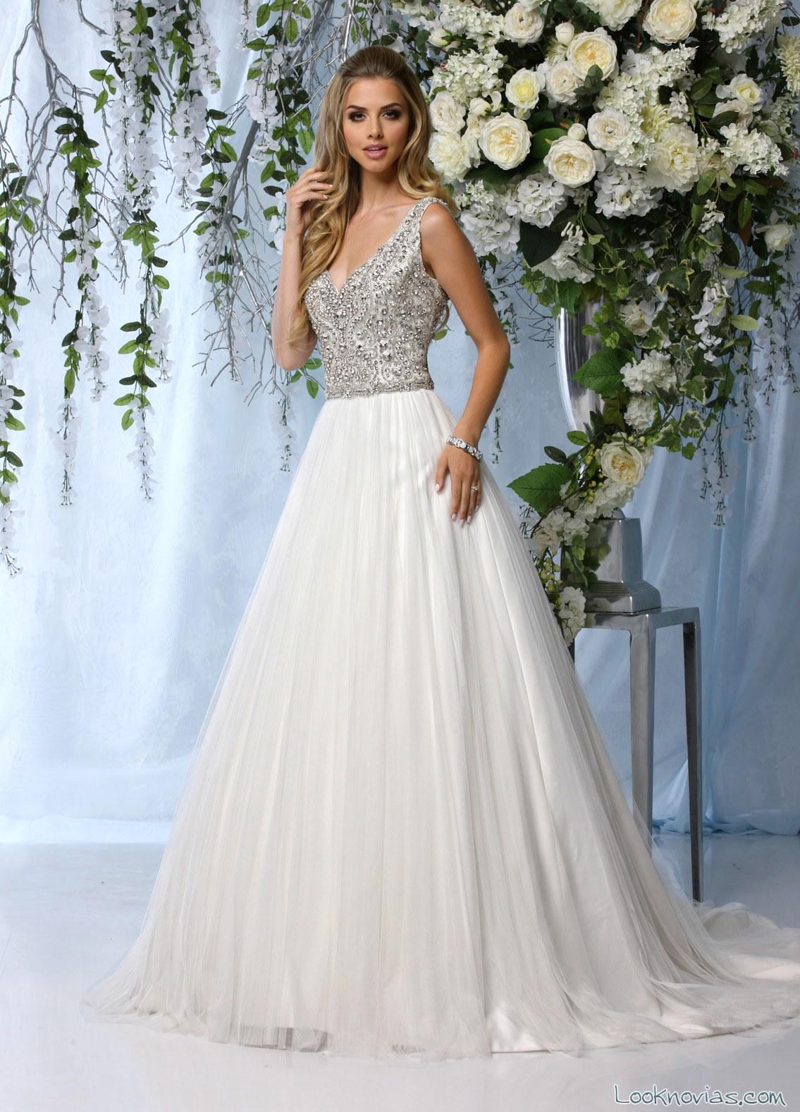 vestido combinado princesas impression bridal