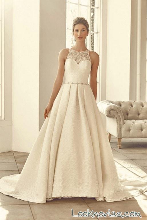 vestido con doble falda benjamin roberts 2017