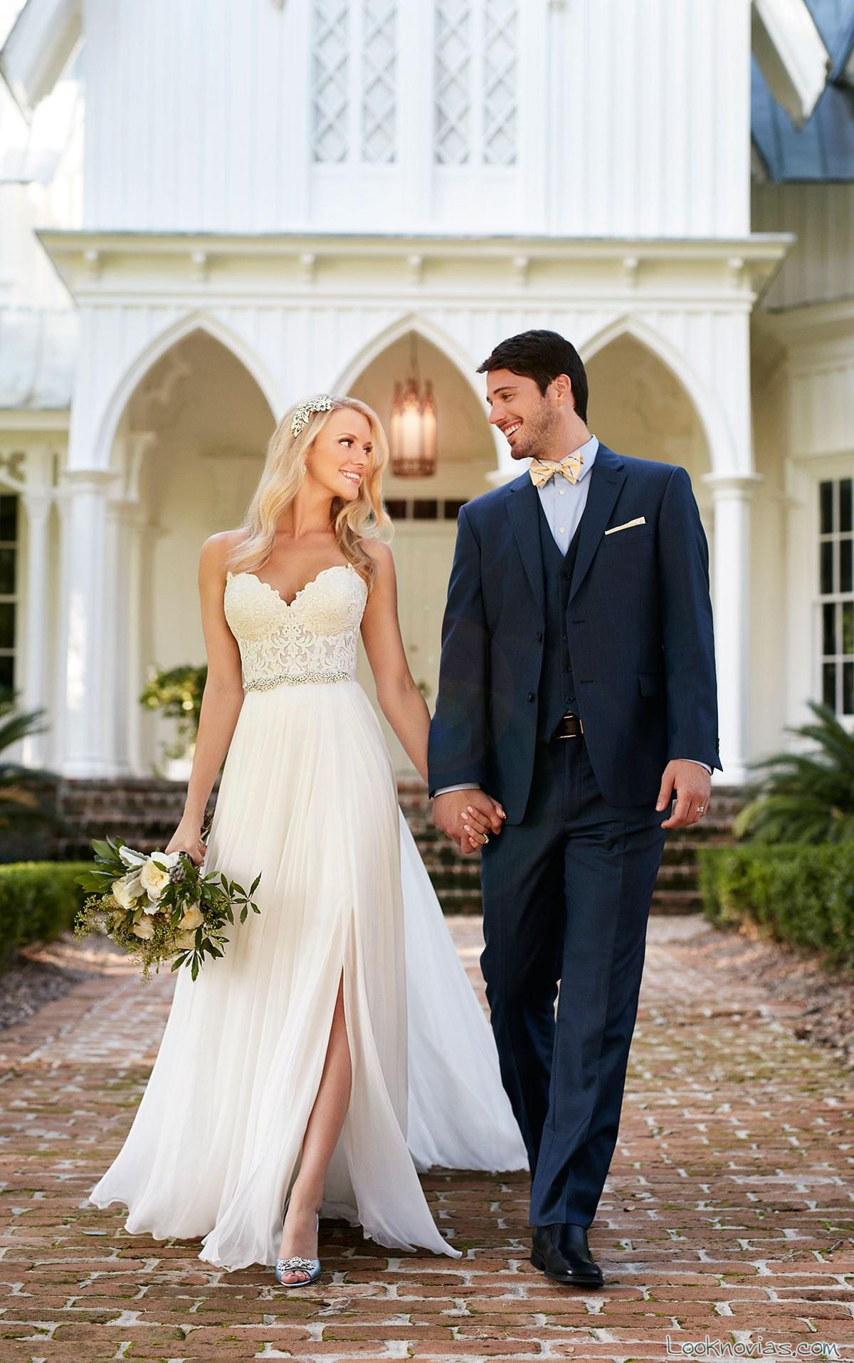 vestido con falda de aberturas martina liana