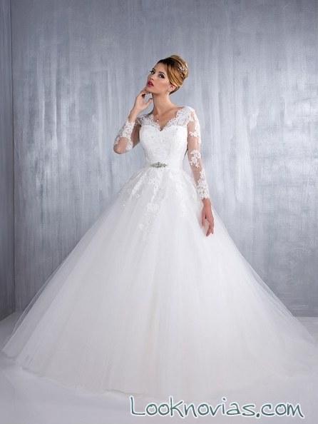 vestido corte a de aurye mariage