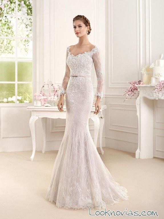 vestido corte sirena de fara sposa