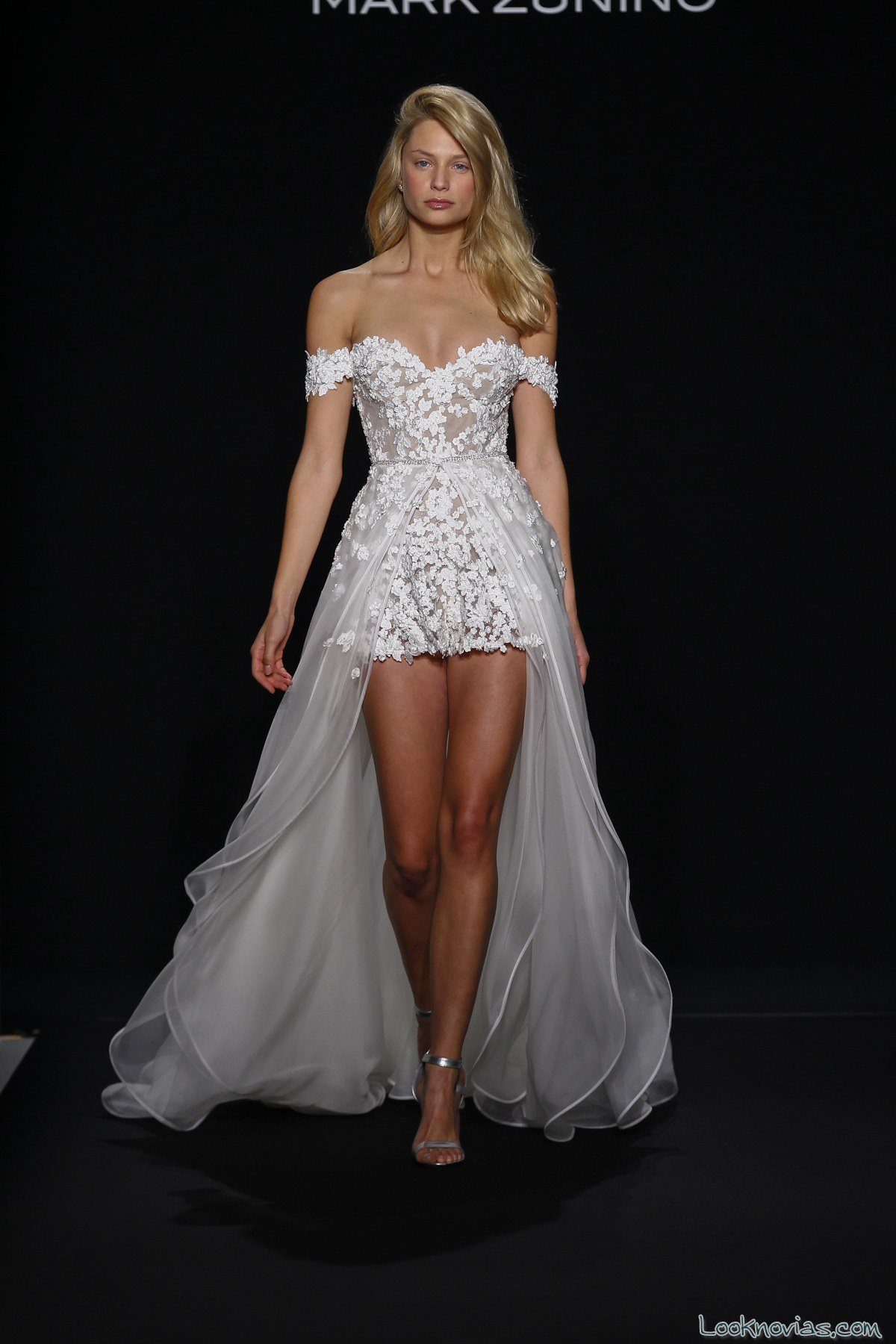 vestido corto 2016 de mark zunino