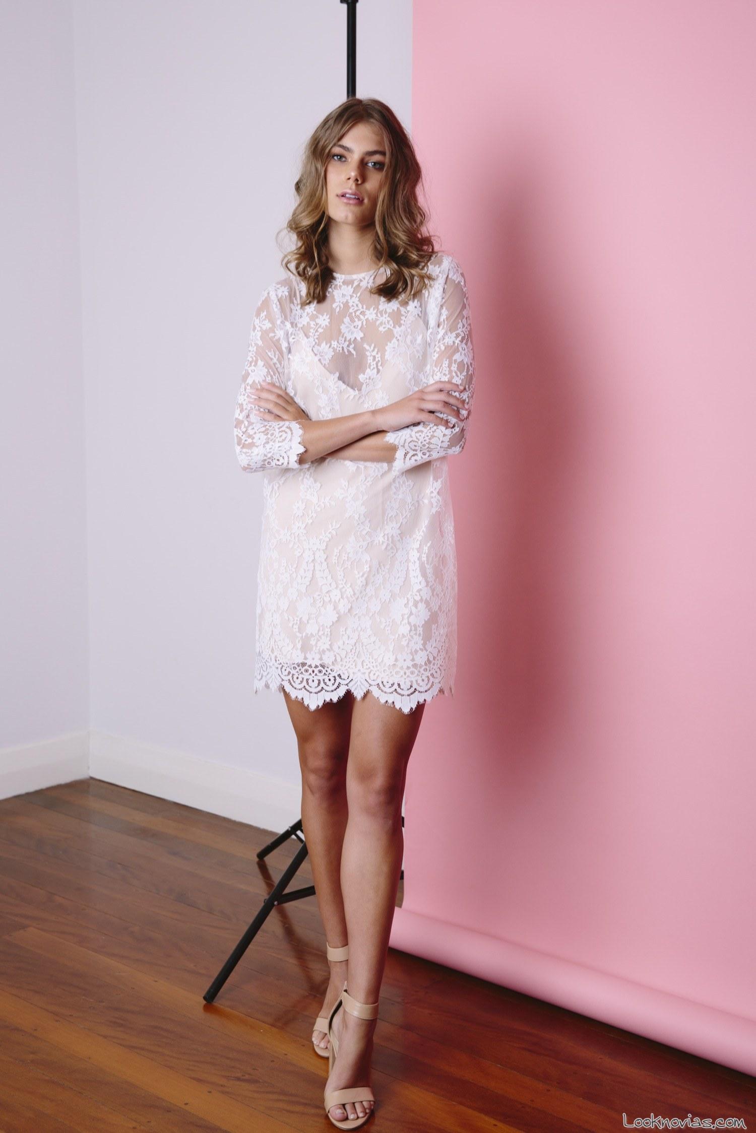 vestido corto de jennifer gifford
