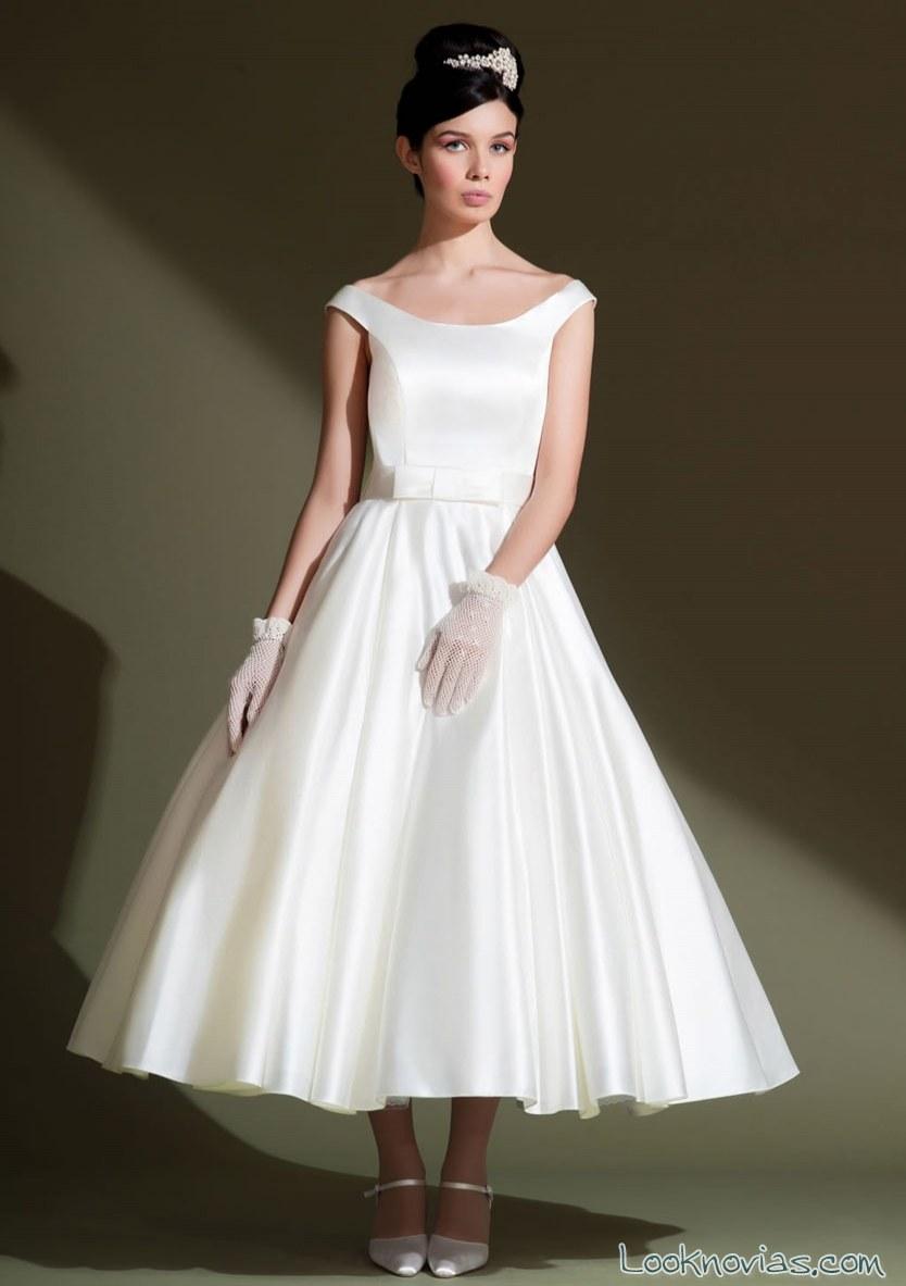 vestido corto tirantes sencillo