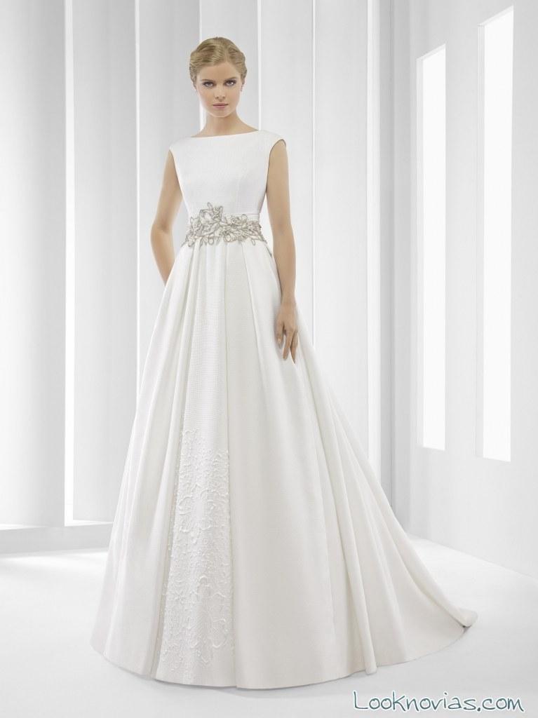 vestido de corte clásico patricia avendaño