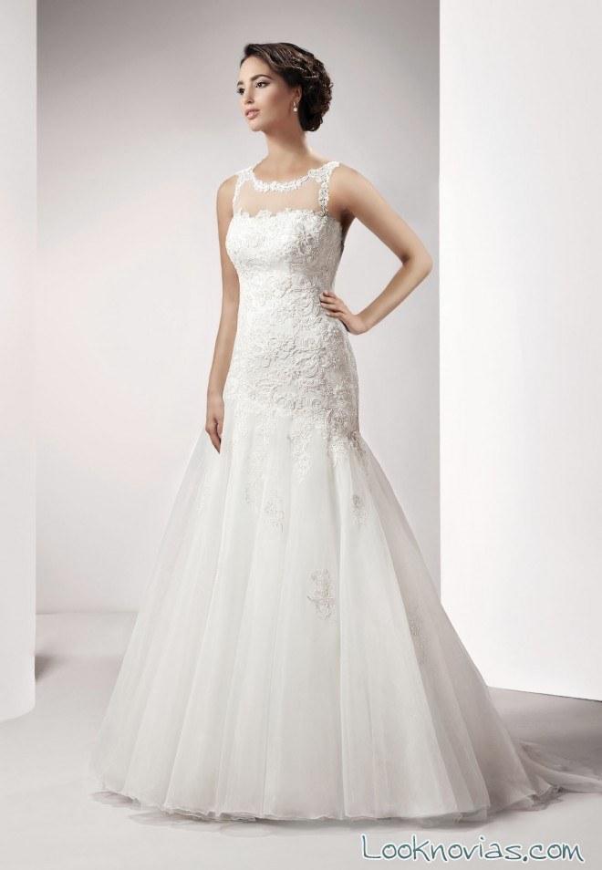 vestido de corte sirena love collection