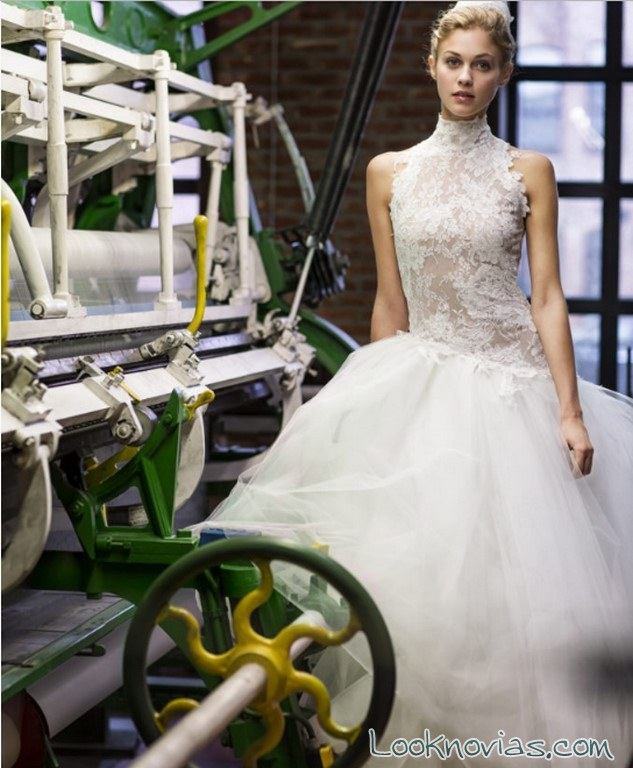 vestido de falda tul por cymbeline