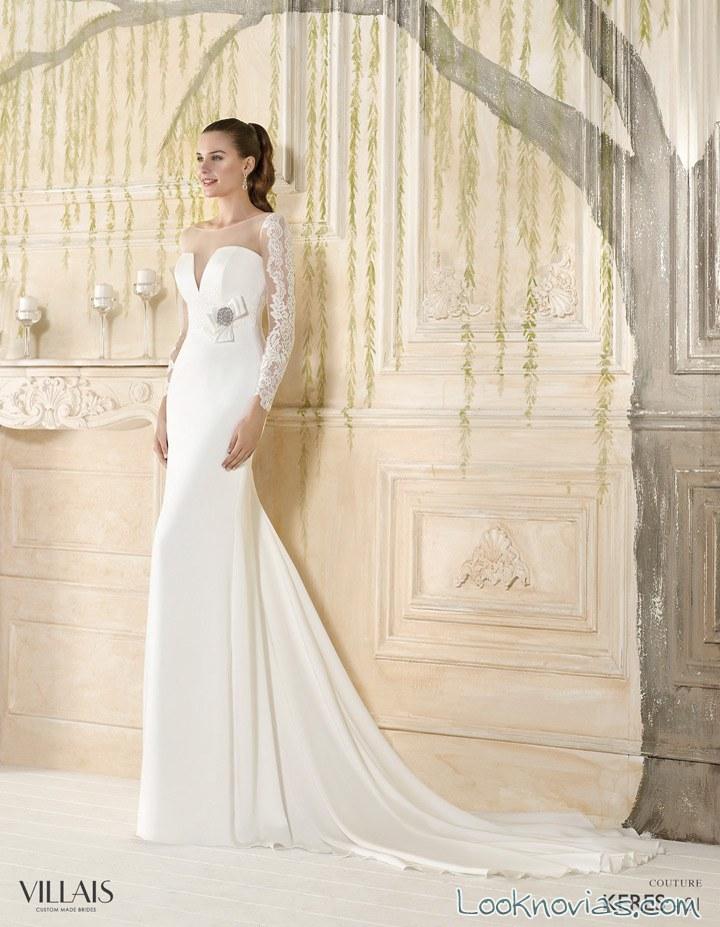 vestido de novia alta costura villais