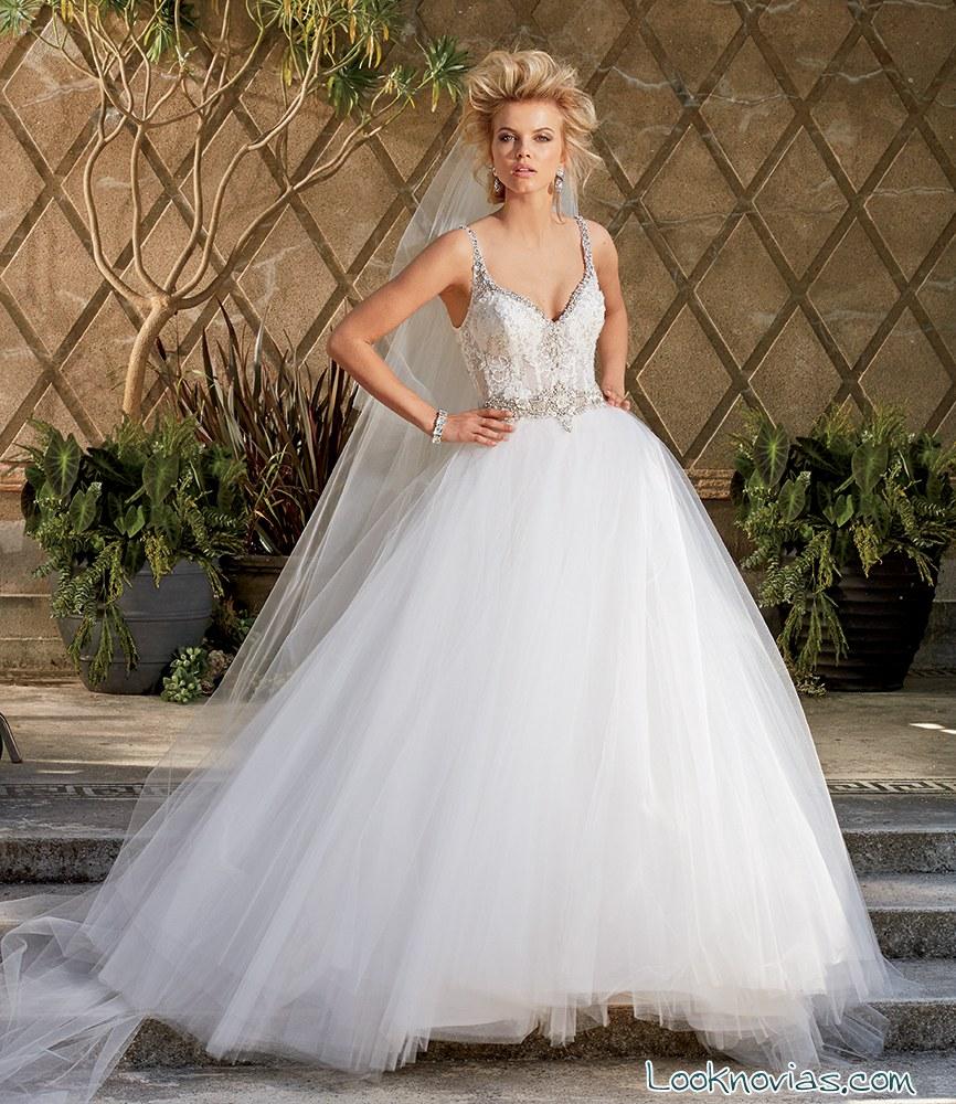 Vestido de novia amalia carrara