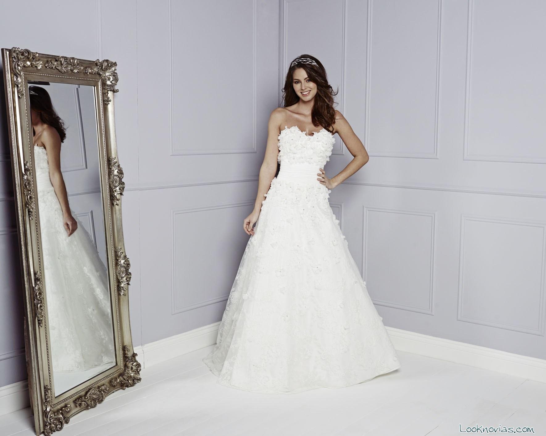 vestido de novia amanda wyatt 2015