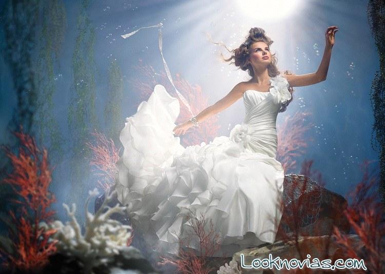 vestido de novia ariel por alfred angelo