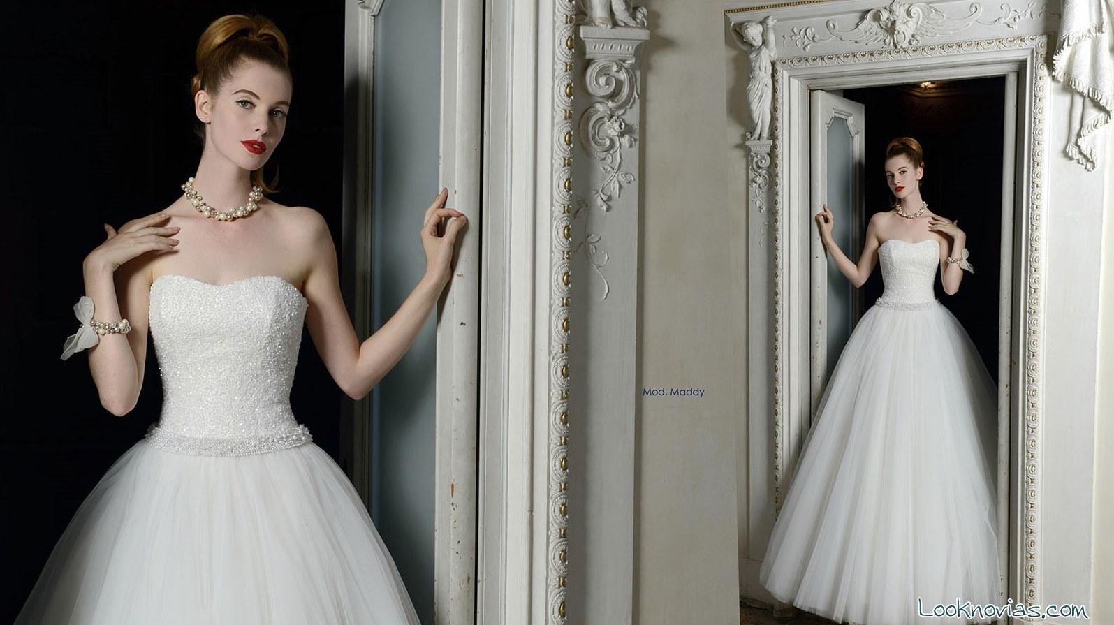 Vestido de novia Atelier Aimée corte princesa