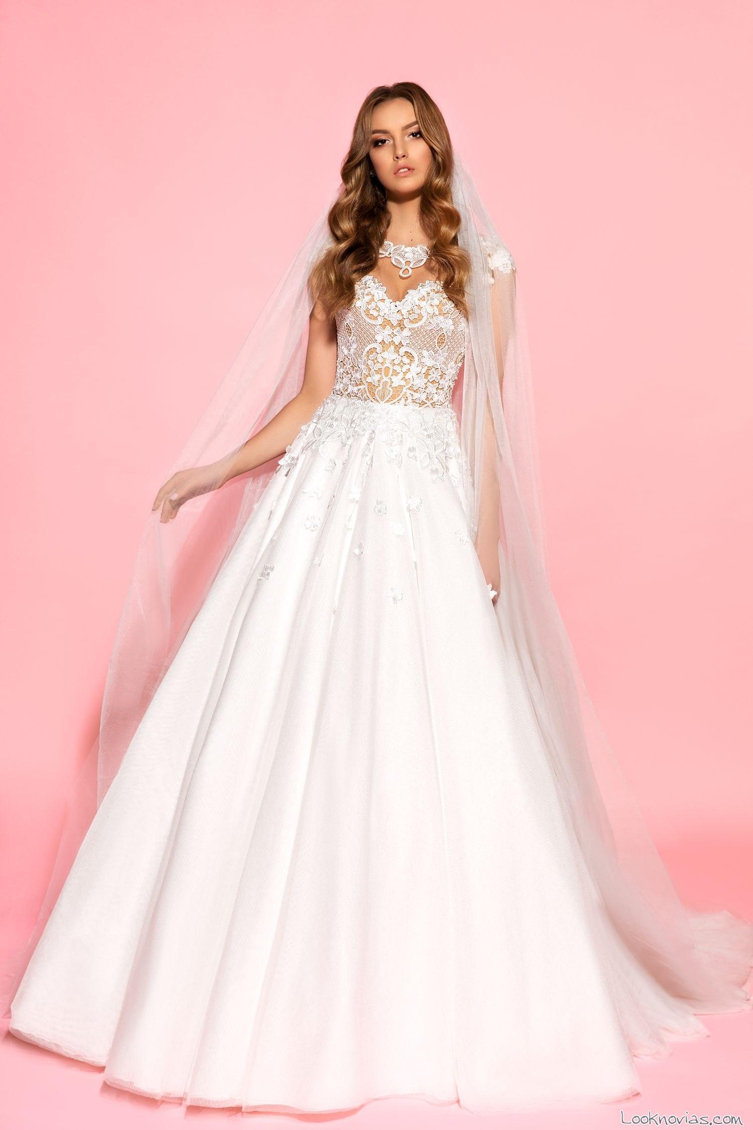 vestido de novia blanco eva lendel