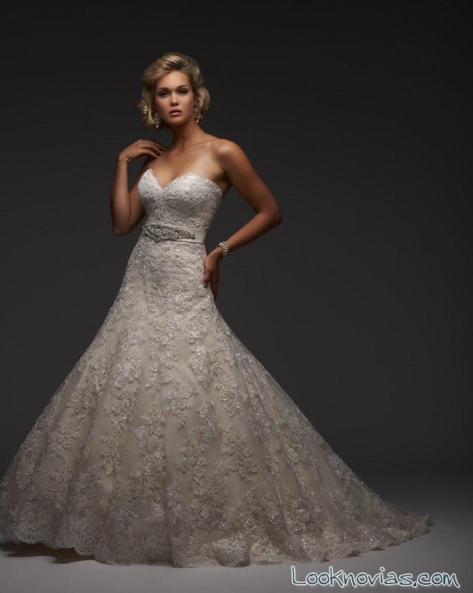 vestido de novia bonny bridal corte sirena