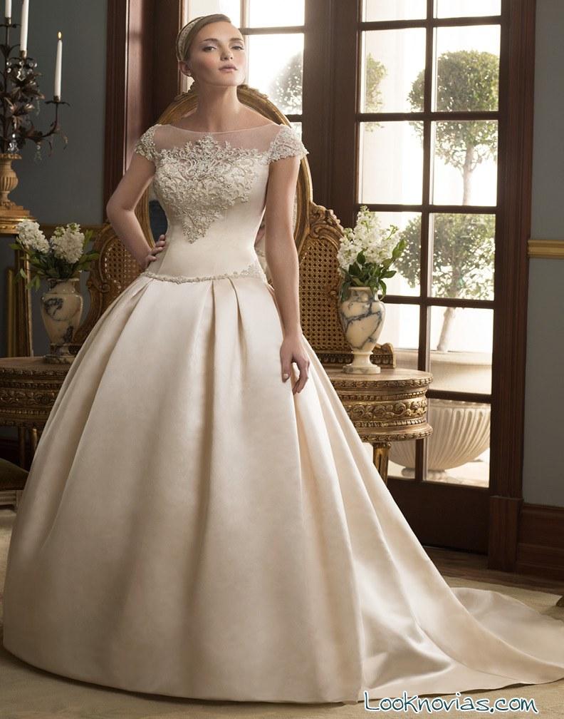 vestido de novia Casablanca Bridal