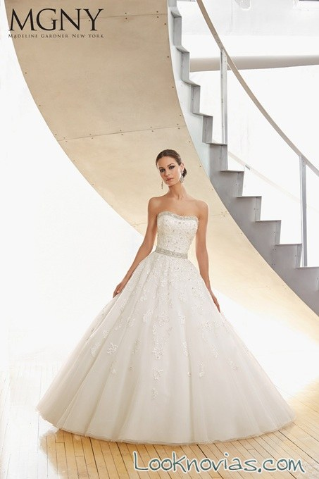 vestido de novia colección volumen 8