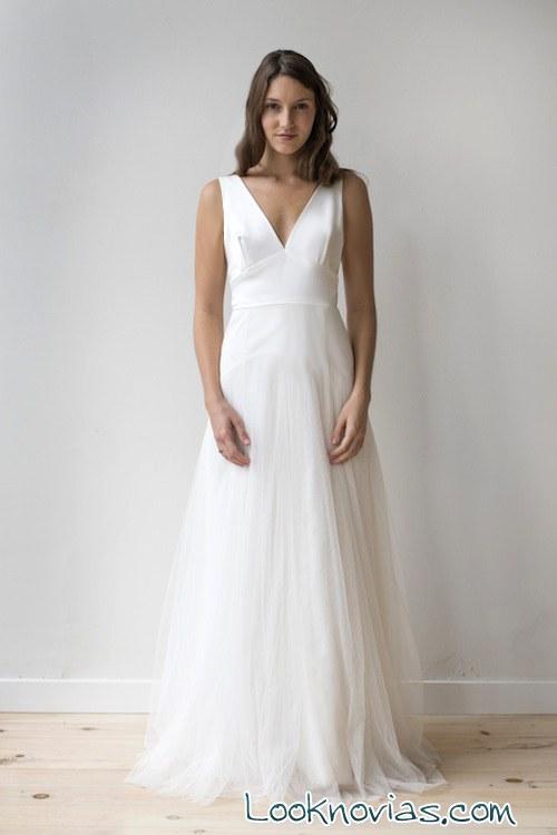 vestido de novia combinado elizabeth dye