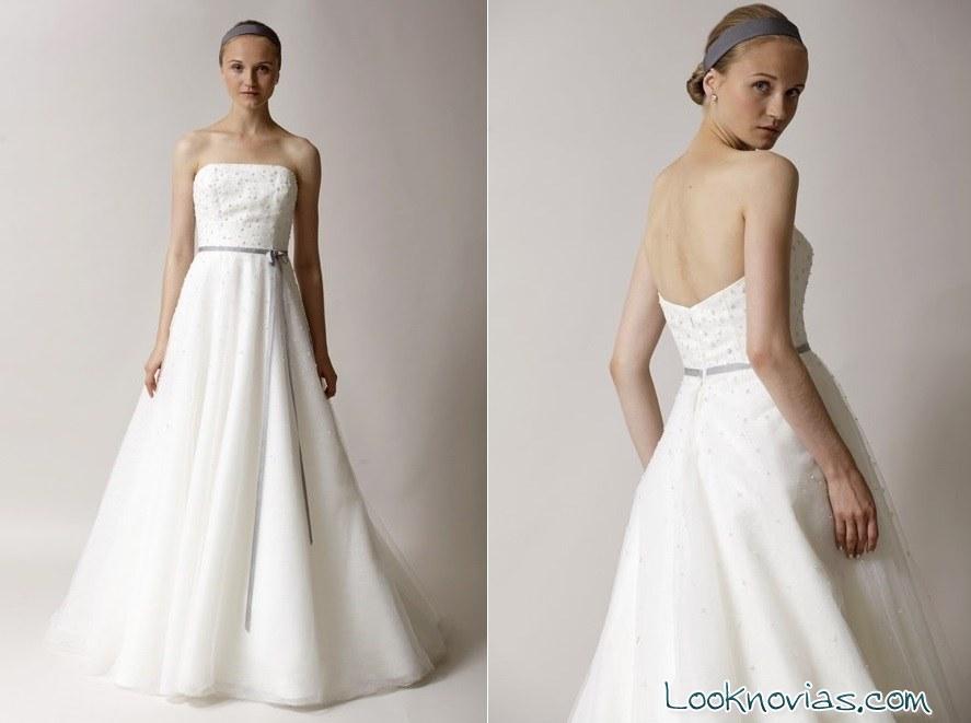 vestido de novia con brillantes Alyne Bridal