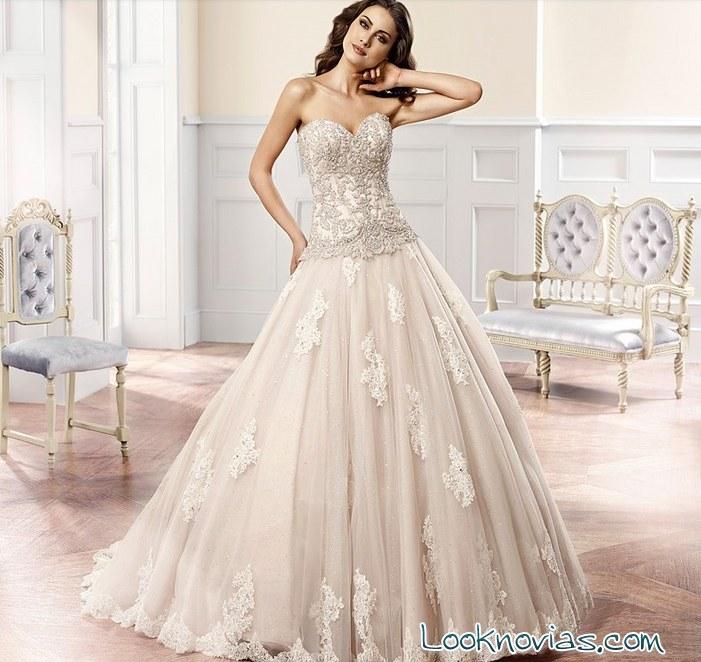 vestido de novia eddy k