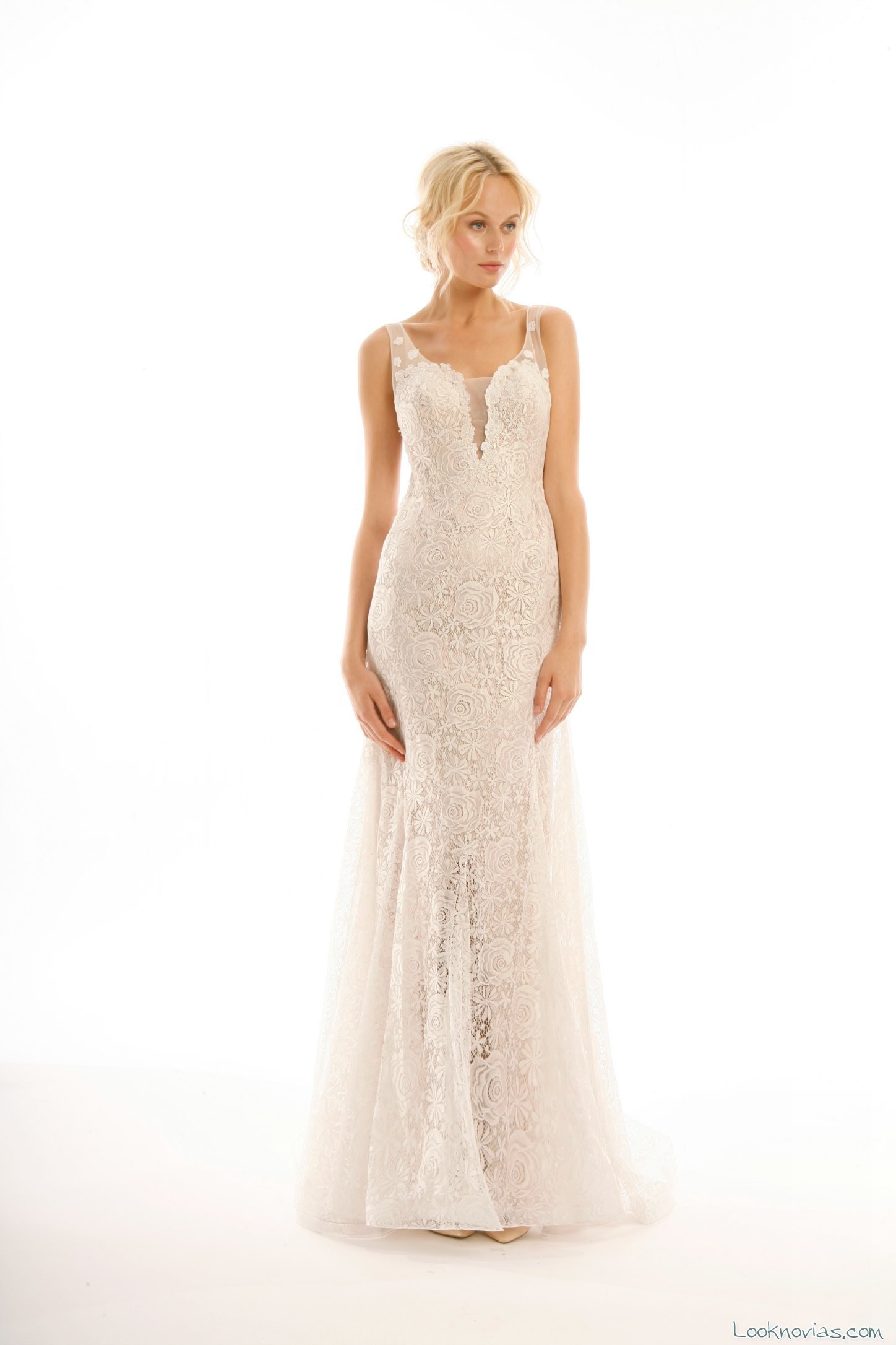 vestido de novia elegante por eugenia couture