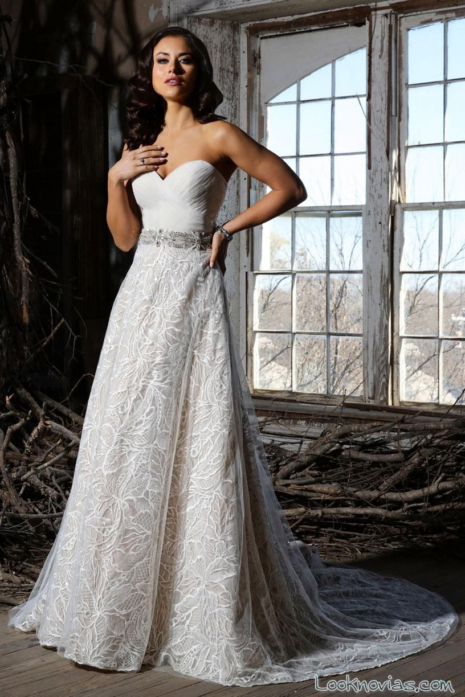 vestido de novia evasé cristiano lucci 2016