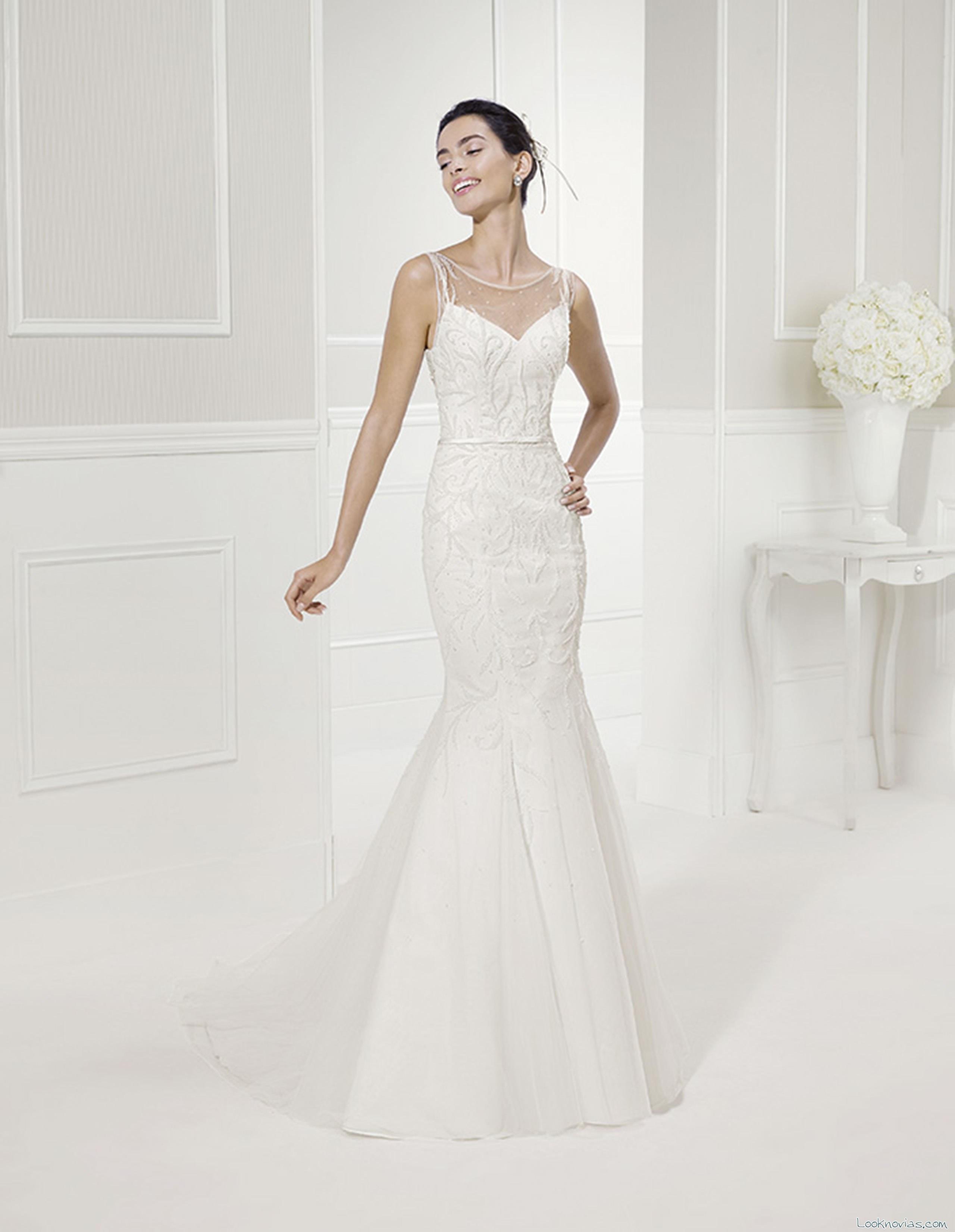 vestido de novia fama alma novia