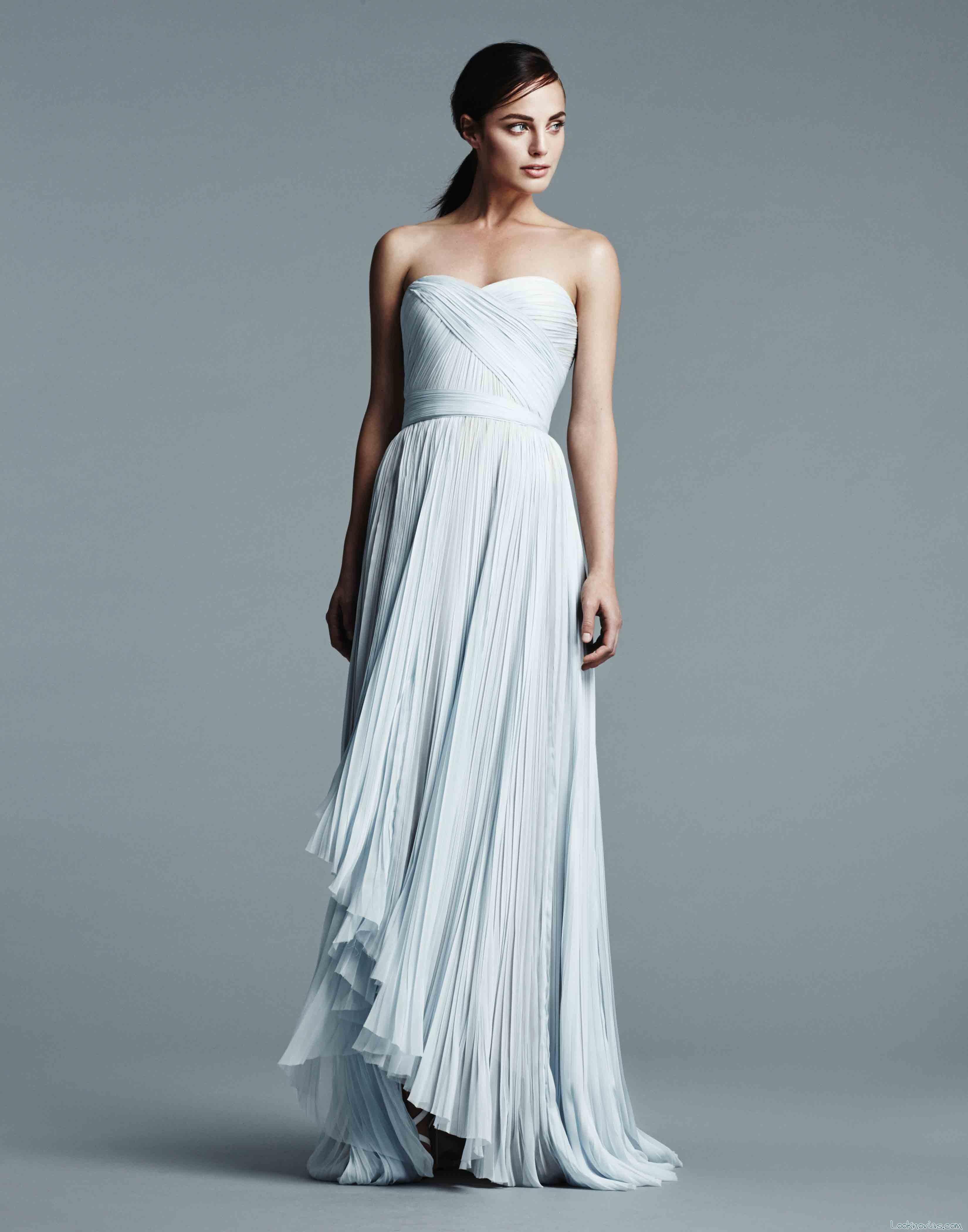 vestido de novia j mendel en color 2017