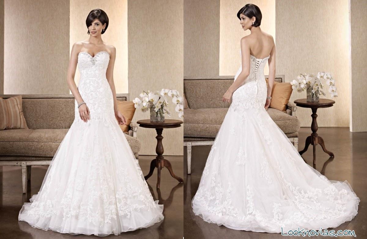 vestido de novia kenneth winston