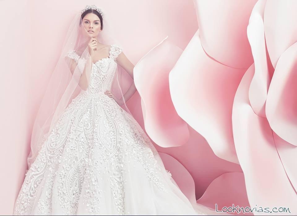 vestido de novia michael cinco primavera-verano 2016