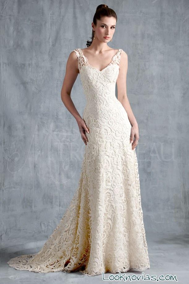 vestido de novia modern Trousseau