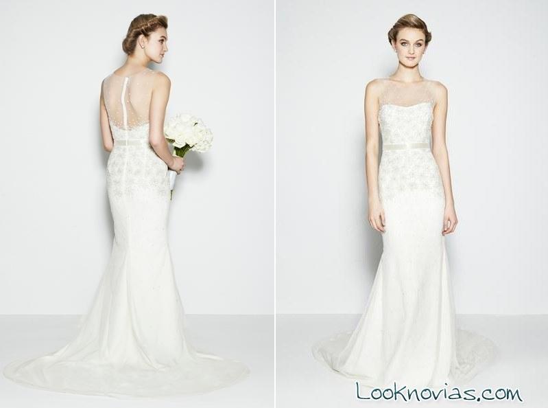 vestido de novia Nicole Miller 2015