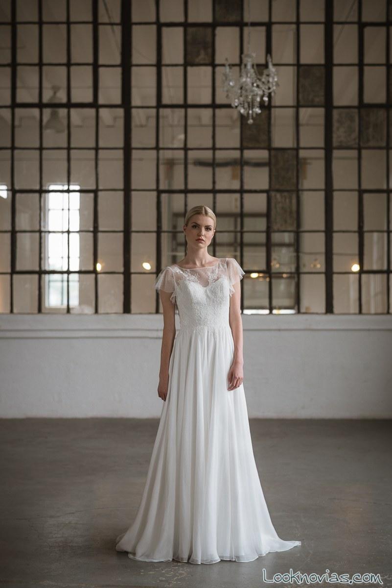 vestido de novia nueva colección 2017 lis simon