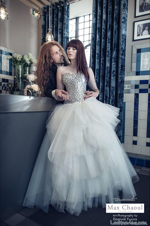 vestido de novia original de max chaoul
