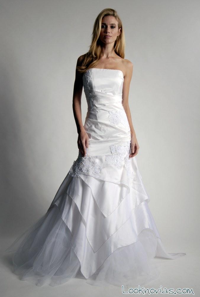 vestido de novia original por elizabeth st john