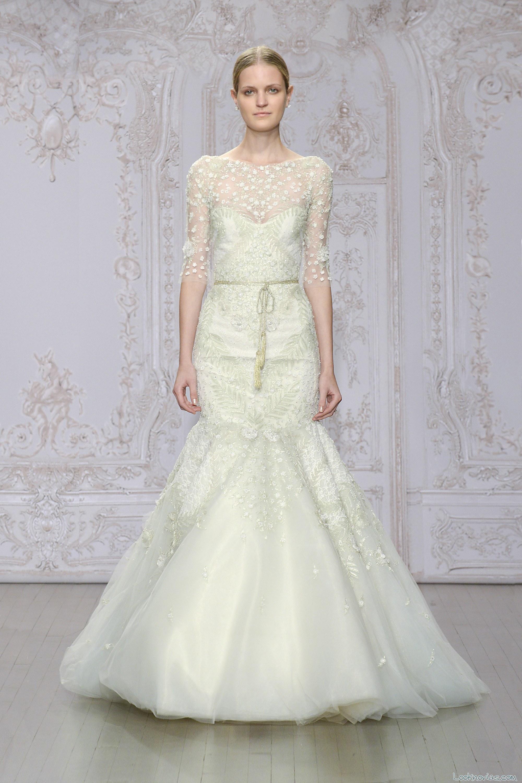 vestido de novia para otoño 2015