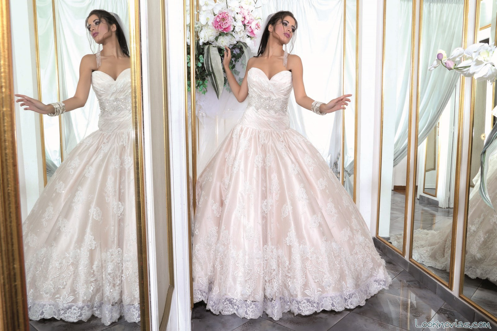 vestido de novia por Paola