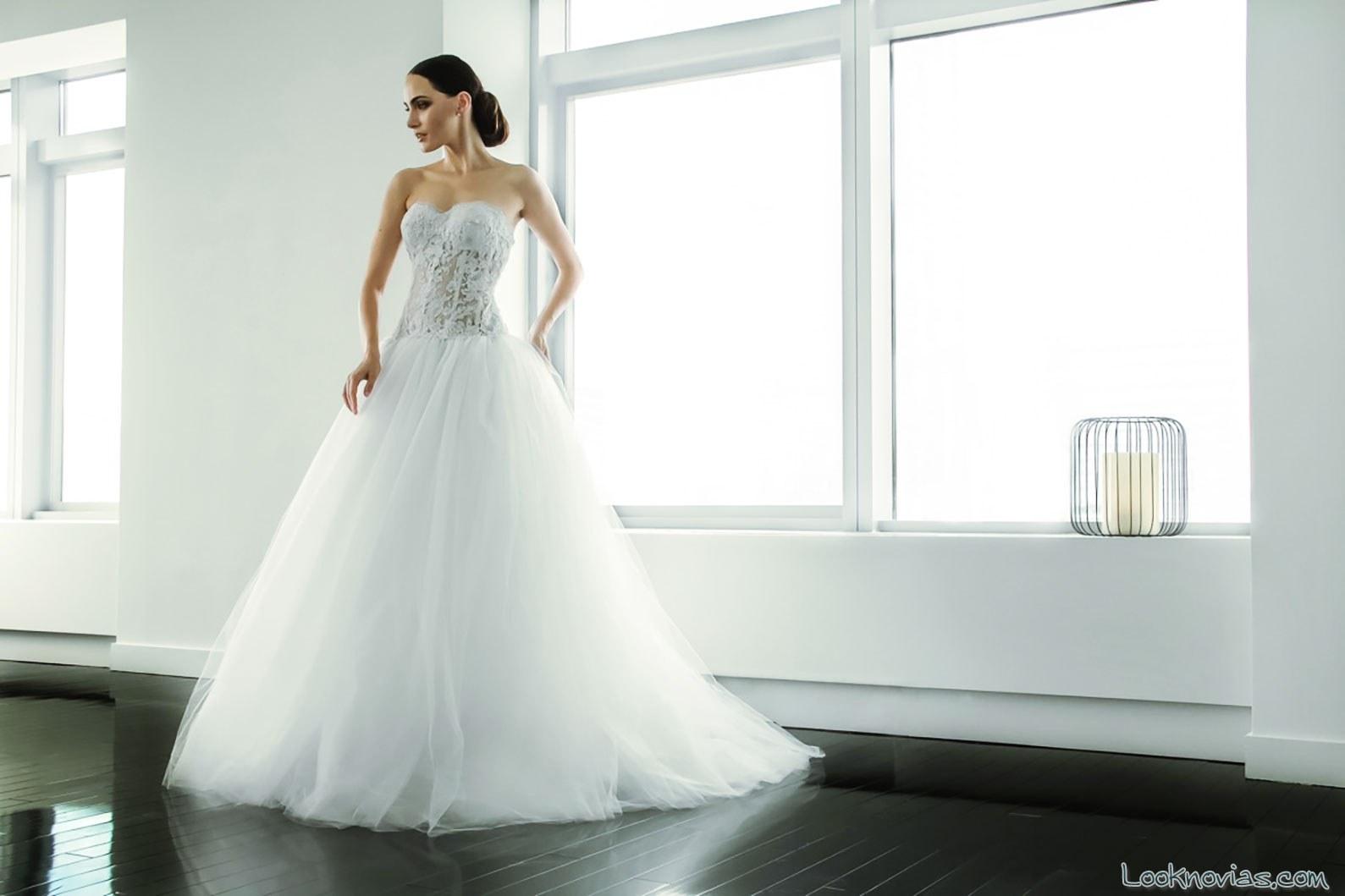 vestido de novia princesa michael de paulo