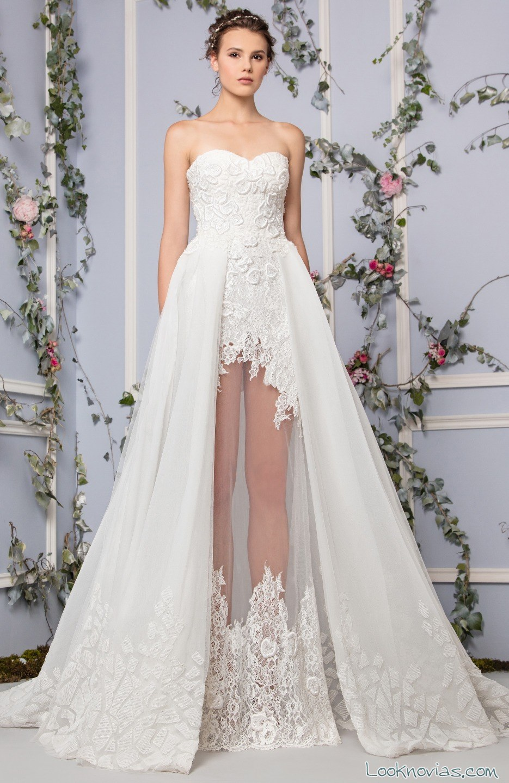 vestido de novia princesa muy original